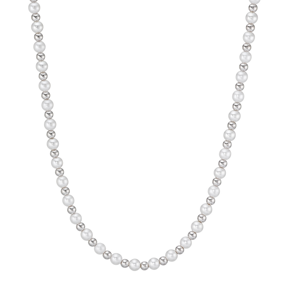 Collier Silber  Perle